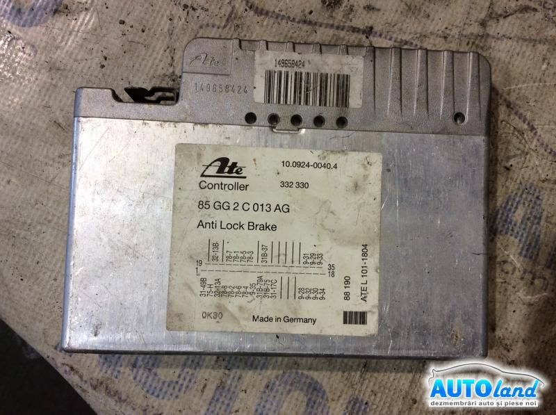 Calculator ABS FORD SCORPIO I (GAE,GGE) 1985-1994 Cod 85GG2C013AG
