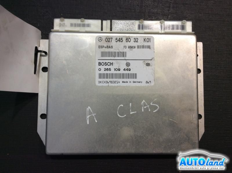 Calculator ABS MERCEDES-BENZ A-CLASS (W168) 1997-2004 Cod 0275456032