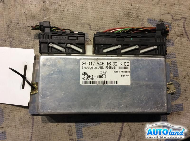 Calculator ABS MERCEDES-BENZ C-CLASS (W202) 1993-2000 Cod 0175451632K02