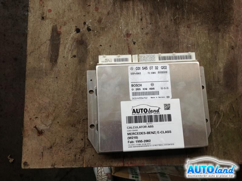 Calculator ABS MERCEDES-BENZ E-CLASS (W210) 1995-2002 Cod 0315450732