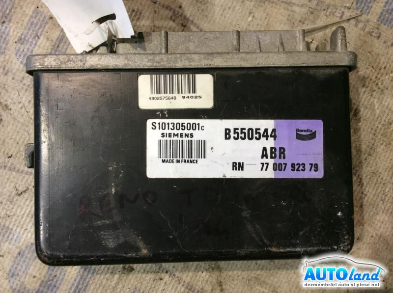 Calculator ABS RENAULT 19 II (B/C53_) 1991-1995 Cod 7700792379