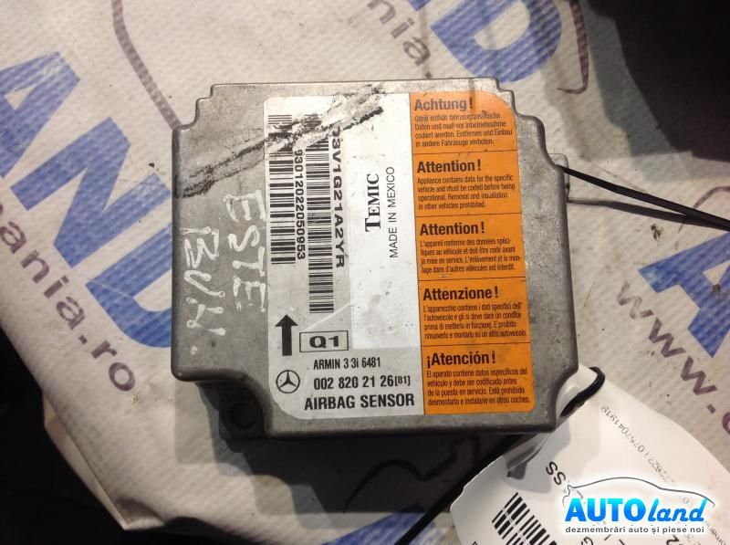 Calculator Airbag MERCEDES-BENZ E-CLASS (W210) 1995-2002 Cod 0028202126