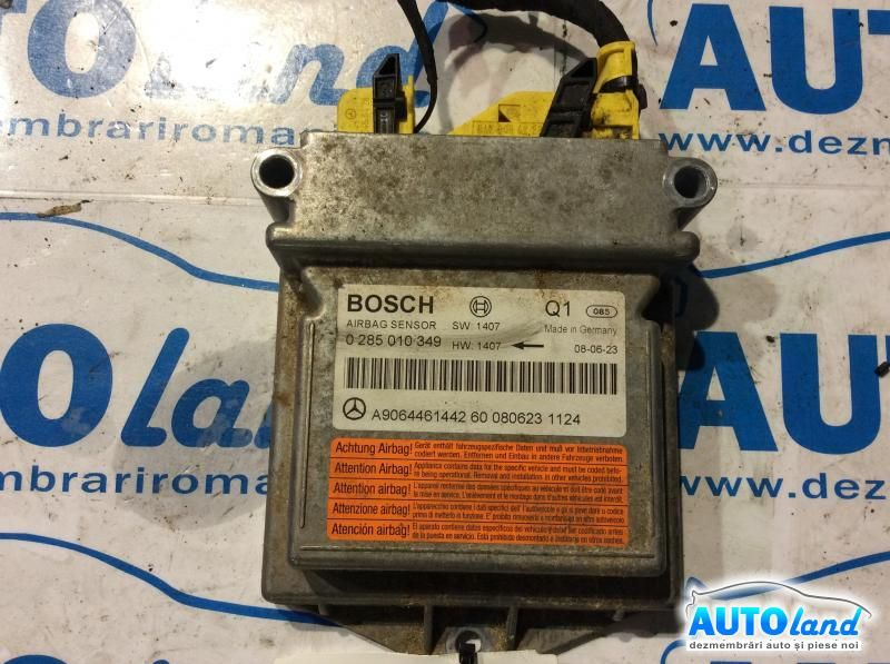 Calculator Airbag MERCEDES-BENZ SPRINTER 3,5-t bus (906) 2006-2017 Cod 0285010349