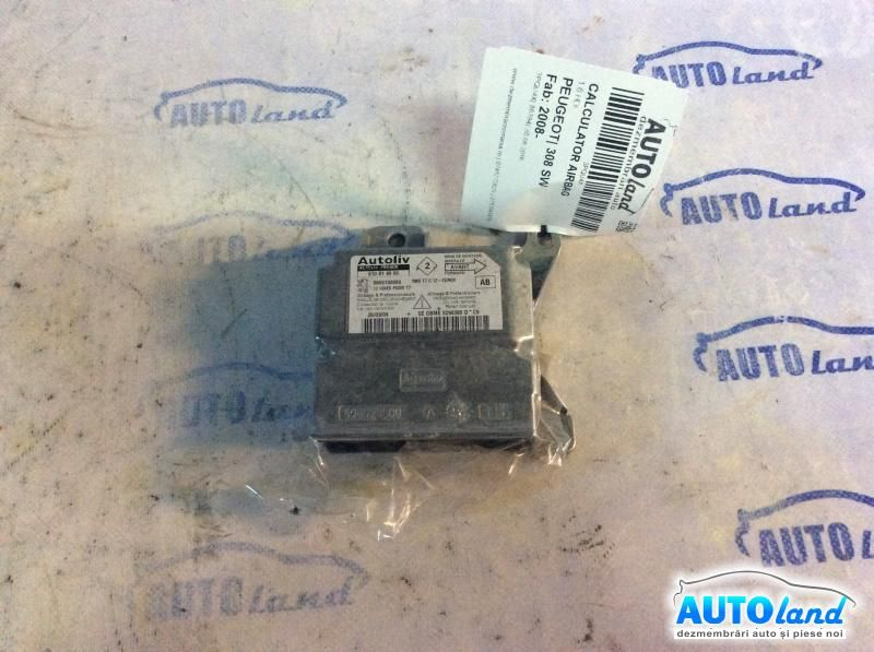 Calculator Airbag PEUGEOT 308 SW 2008-2019 Cod 9665100080