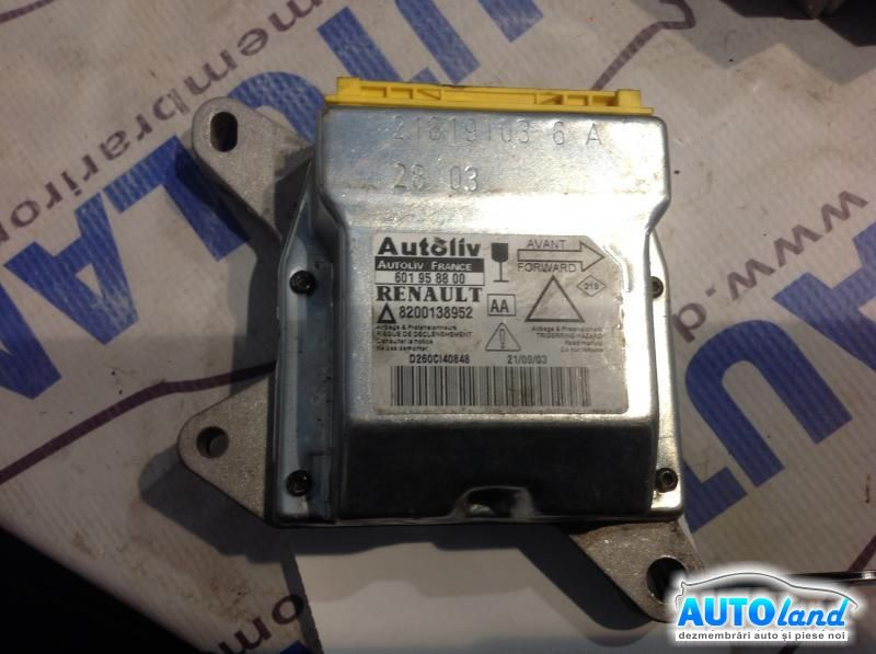 Calculator Airbag RENAULT LAGUNA II (BG0/1_) 2001-2018 Cod 8200138952