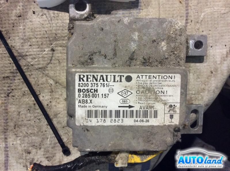 Calculator Airbag RENAULT SYMBOL (LB0/1/2_) 1998-2003 Cod 8200375761