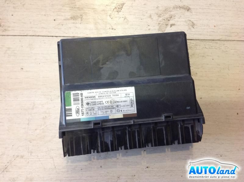 Calculator Confort FORD MONDEO III (B5Y) 2000-2003 Cod 1S7T15K600HB