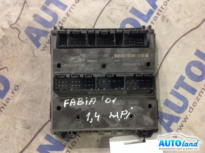 Calculator Confort SKODA FABIA (6Y2) 1999-2018 Cod 6Q2937049