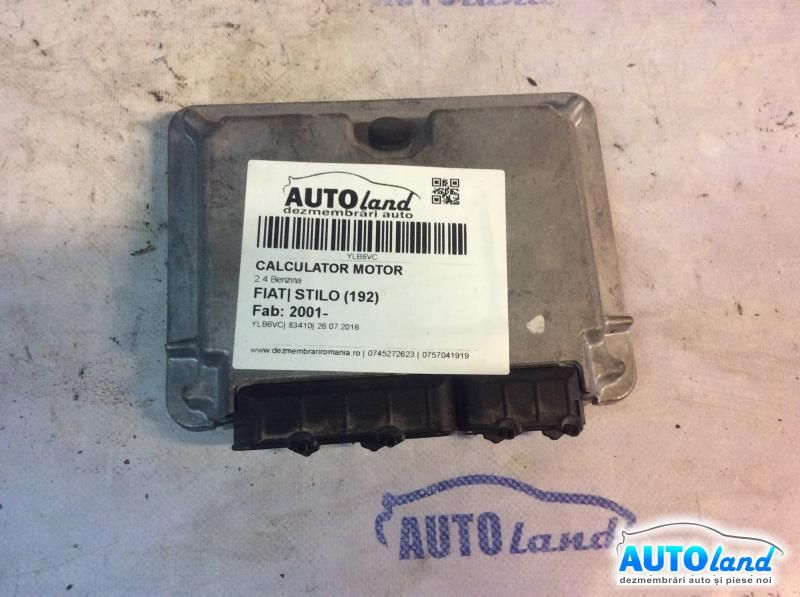 Calculator Motor FIAT STILO (192) 2001-2019 Cod 55180343