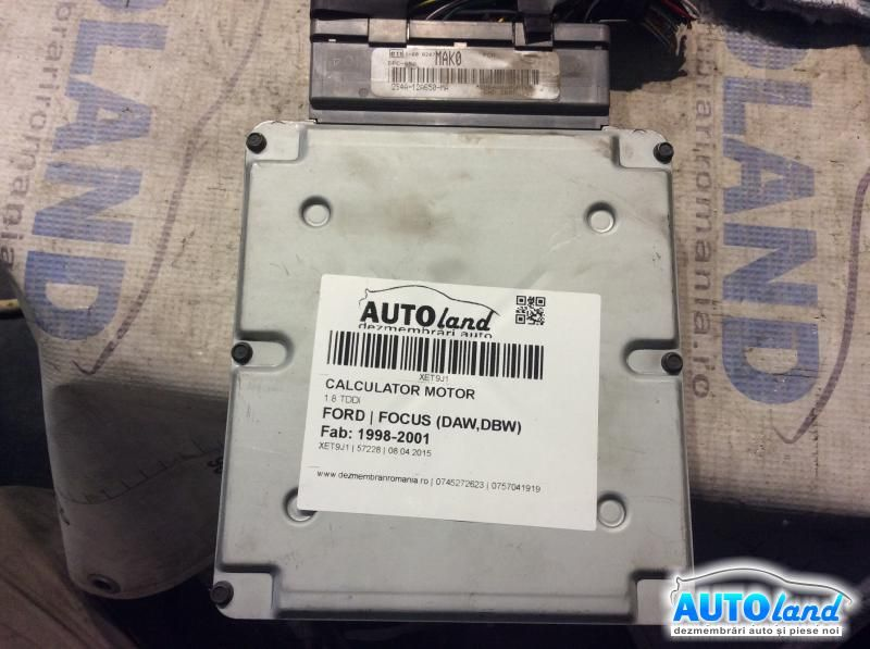 Calculator Motor FORD FOCUS (DAW,DBW) 1998-2001 Cod 2S4A12A650MA