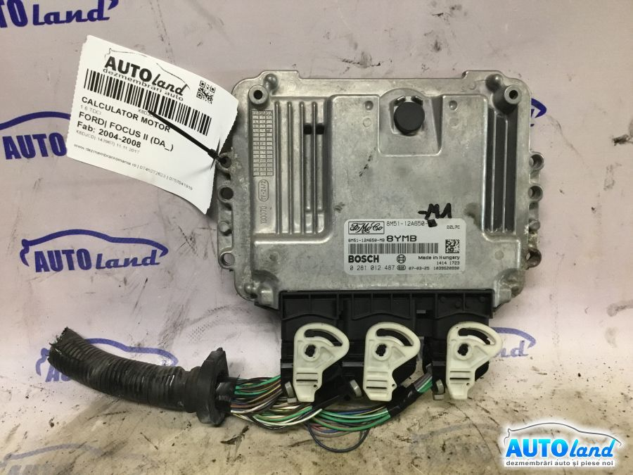 Calculator Motor FORD FOCUS II (DA_) 2004-2008 Cod 0281012487