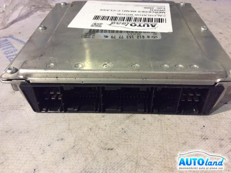 Calculator Motor MERCEDES-BENZ C-CLASS (W203) 2000-2019 Cod A6121537779