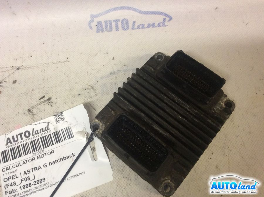 Calculator Motor OPEL ASTRA G hatchback (F48_,F08_) 1998-2009 Cod 12212819