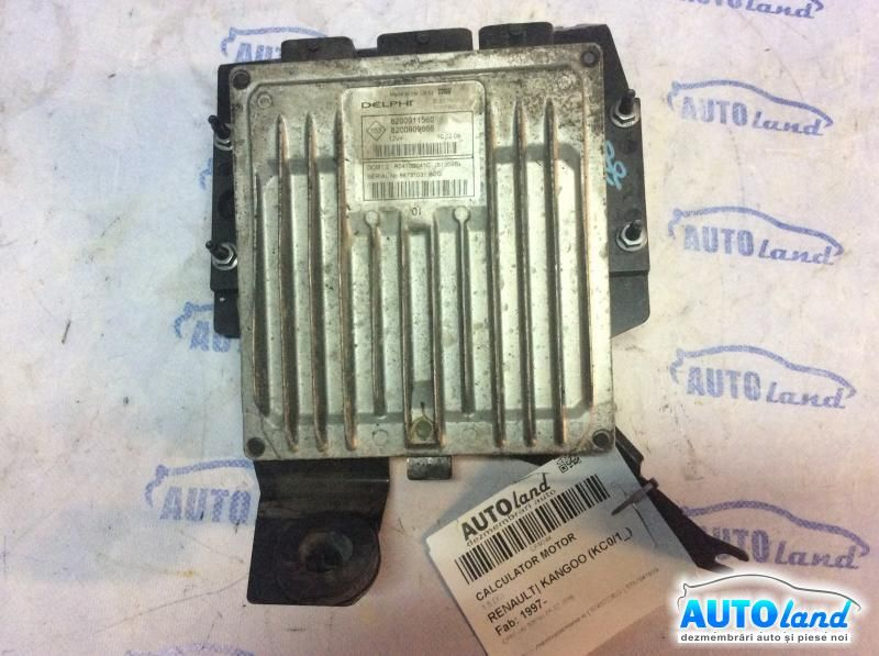 Calculator Motor RENAULT KANGOO (KC0/1_) 1997-2019 Cod 8200911560