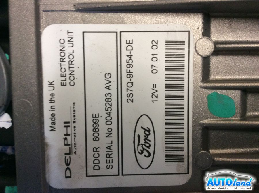 Calculator Pompa Injectie FORD MONDEO III (B5Y) 2000-2003