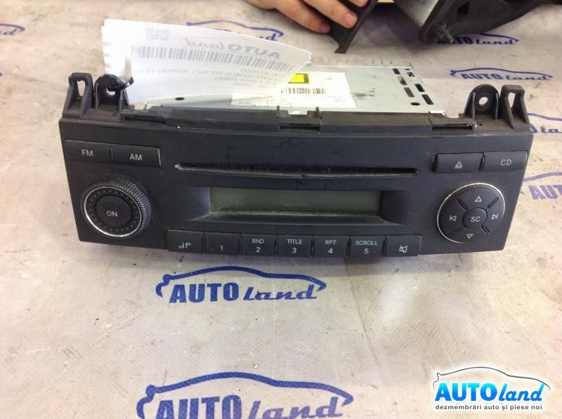 CD Audio MERCEDES-BENZ SPRINTER 3,5-t bus (906) 2006-2018 Cod A9068200079