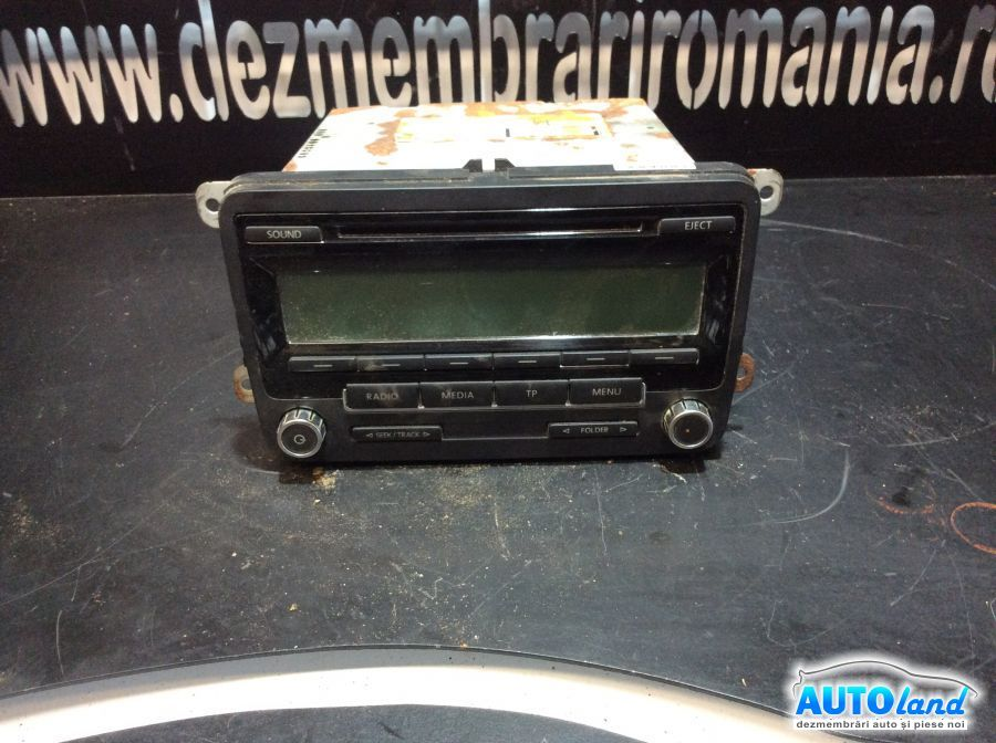 CD Audio VOLKSWAGEN GOLF VI 2008-2019 Cod 1K0035186AA