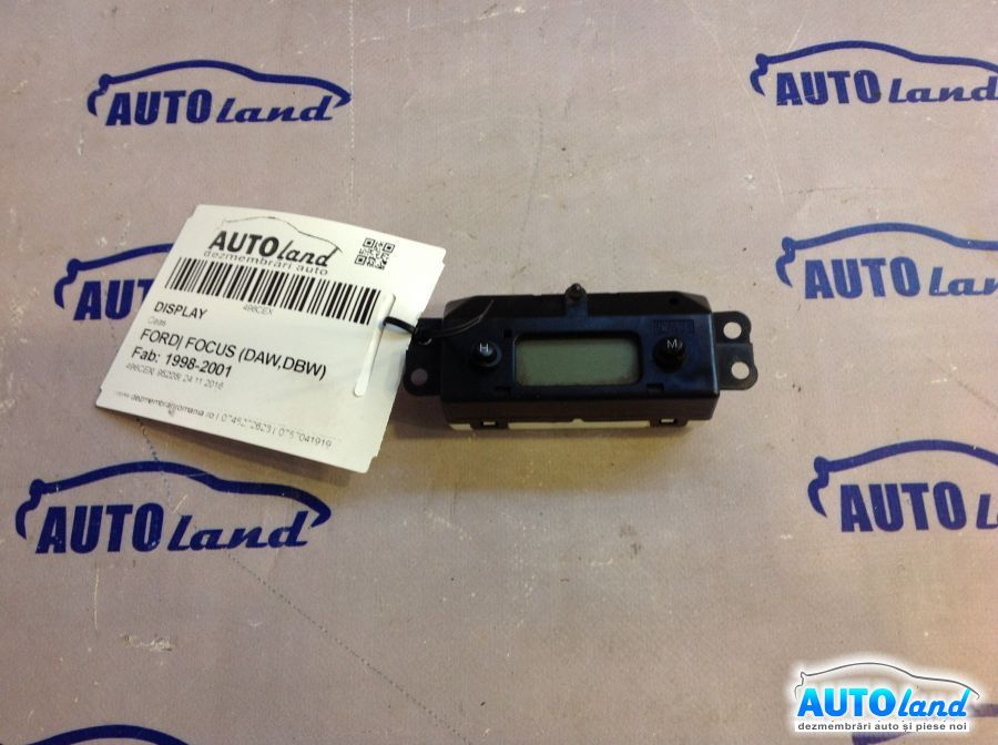 Display FORD FOCUS (DAW,DBW) 1998-2001