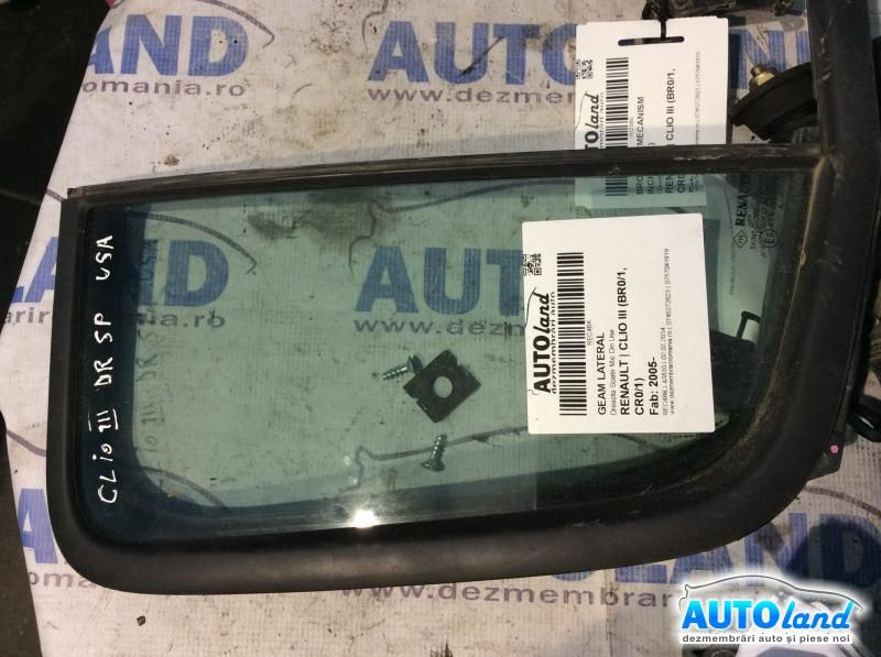 Geam Lateral RENAULT CLIO III (BR0/1,CR0/1) 2005-2017
