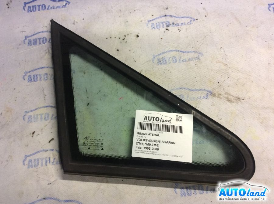 Geam Lateral VOLKSWAGEN SHARAN (7M8,7M9,7M6) 1995-2000
